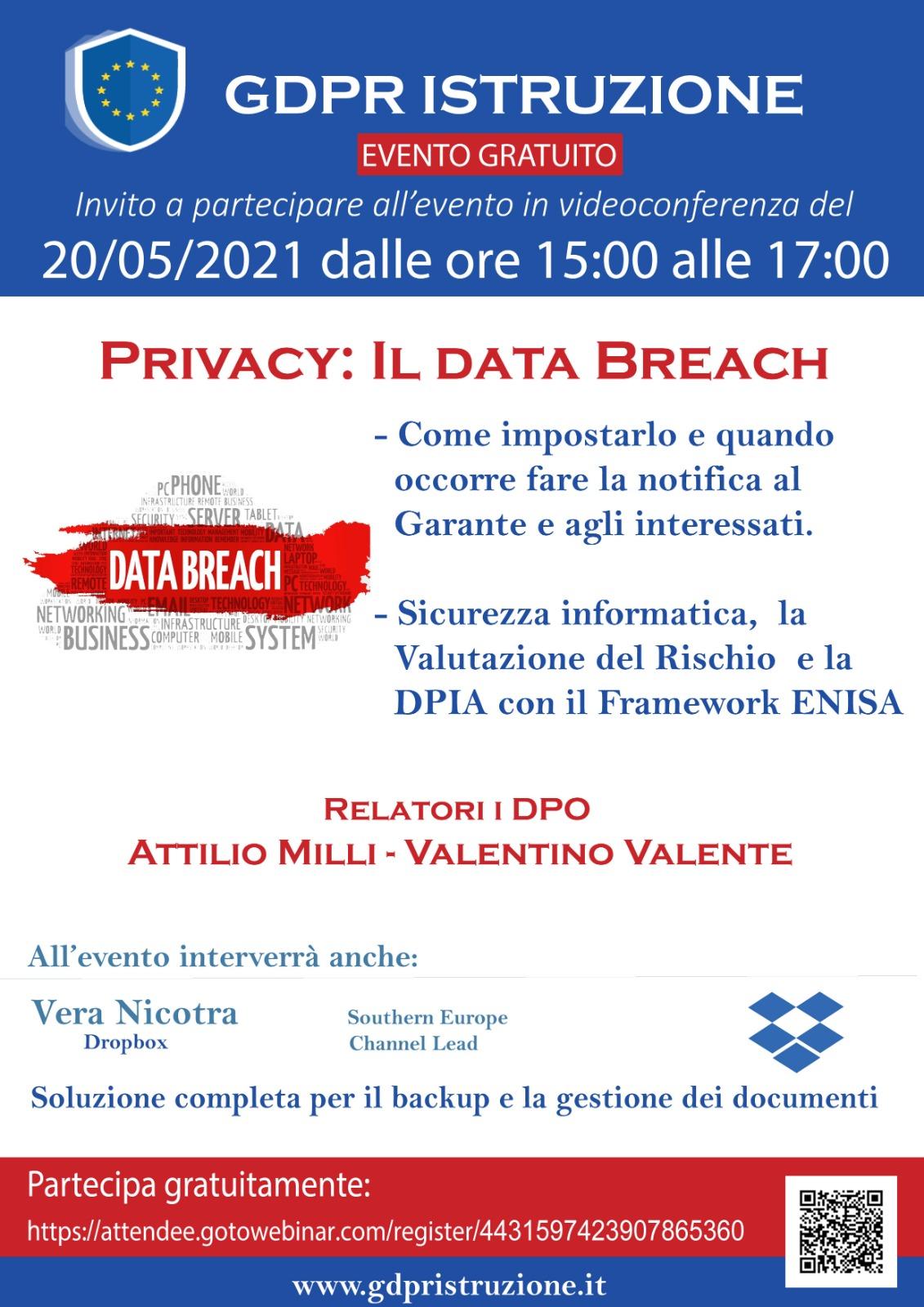 Privacy: Il Data Breach nella scuola italiana